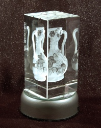 Photo Object, girlhood vase crystal block_Paula Lalala_2017