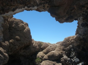 stone portal to sky